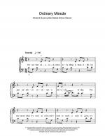 Ordinary Miracle Sheet Music