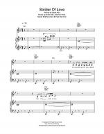 Soldier Of Love Sheet Music