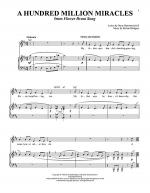 A Hundred Million Miracles Sheet Music