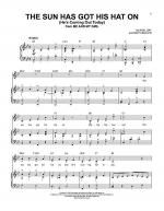 The Sun Has Got His Hat On (He's Coming Out Today) Sheet Music