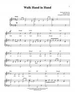 Walk Hand In Hand Sheet Music