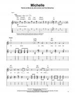Michelle Sheet Music