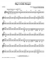 Dig A Little Deeper (from The Princess And The Frog) - Guitar Sheet Music