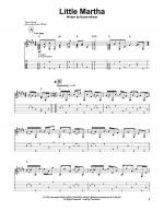 Little Martha Sheet Music