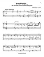 Proposal Sheet Music