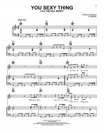 You Sexy Thing Sheet Music