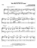 The Best Is Yet To Come - Piano Sheet Music