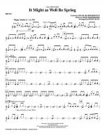 It Might As Well Be Spring - Drums Sheet Music