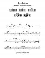 Disco Inferno Sheet Music