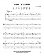 Edge Of Desire Sheet Music