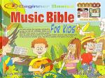 Beginner Basics Music Bible for Kids Book/4DVDs plus 2 Bonus DVD-Roms Sheet Music