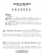 Gentle On My Mind Sheet Music