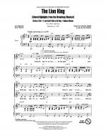 The Lion King (Broadway Musical Highlights) Sheet Music