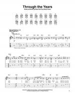 Through The Years Sheet Music