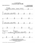 A Lot Of Livin' To Do - Percussion Sheet Music