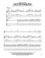 Let It All Hang Out Sheet Music