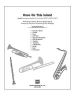 Once on This Island: A Choral Medley Sheet Music