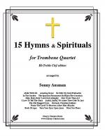 15 Hymns & Spirituals-Bb Treble clef Sheet Music