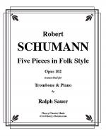 Five Pieces in Folk Style, Opus 102 Sheet Music