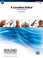 A Canadian Ballad Sheet Music