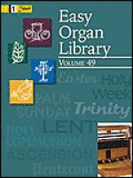 Easy Organ Library, Vol. 49 Sheet Music
