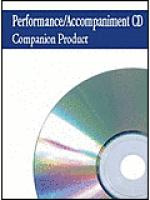 The Wonderful Cross - P/A CD Sheet Music
