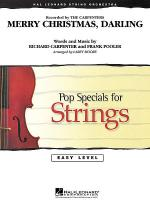 Merry Christmas, Darling Sheet Music