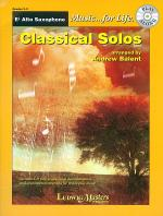 Classical Solos (alto saxophone) Sheet Music