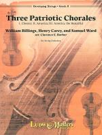 Three Patriotic Chorales Sheet Music