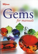 Hidden Gems For Manuals - Spiral bound Sheet Music