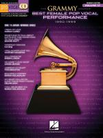 The Grammy Awards: Best Female Pop Vocal Performance 1990-1999 Sheet Music