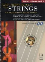 New Directions For Strings: A Comprehensive String Method - Book 2 (Teacher's Manual) Sheet Music