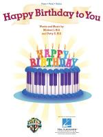 Happy Birthday To You (PVG) Sheet Music