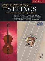 New Directions For Strings: A Comprehensive String Method - Book 2 (Cello) Sheet Music