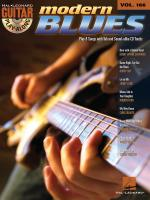Guitar Play-Along Volume 166: Modern Blues Sheet Music