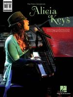 Alicia Keys: Note-For-Note Keyboard Transcriptions Sheet Music