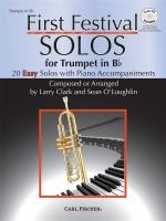 Larry Clark/Sean O'Loughlin: First Festival Solos - Trumpet In B Flat Sheet Music