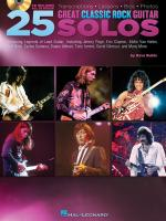Dave Rubin: 25 Great Classic Rock Guitar Solos Sheet Music