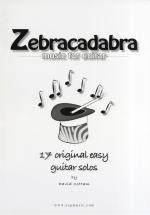 David Cottam Zebracadabra - Music For Guitar Sheet Music