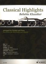Schott Classical Highlights Clarinet Sheet Music