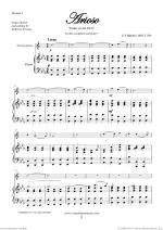 Arioso - Dank sei dir, Herr sheet music to download instantly for alto saxophone & piano Sheet Music