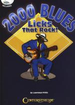 Centerstream 2000 Blues Licks That Rock! Sheet Music