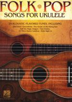 Hal Leonard Folk Pop Songs For Ukulele Sheet Music