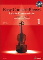 Schott Easy Concert Pieces Violin 1 Sheet Music