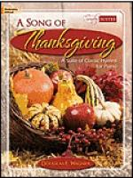 A Song of Thanksgiving Sheet Music