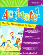 Activate! Dec 11/Jan 12 Sheet Music