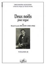 2 noels pour orgue Sheet Music