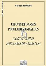 6 chants et danses populaires andalous Sheet Music