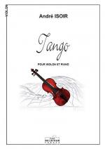 Tango (version violon et piano) Sheet Music