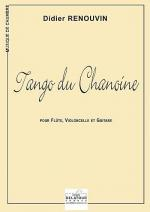 Tango du Chanoine (version flute, violoncelle et guitare) Sheet Music